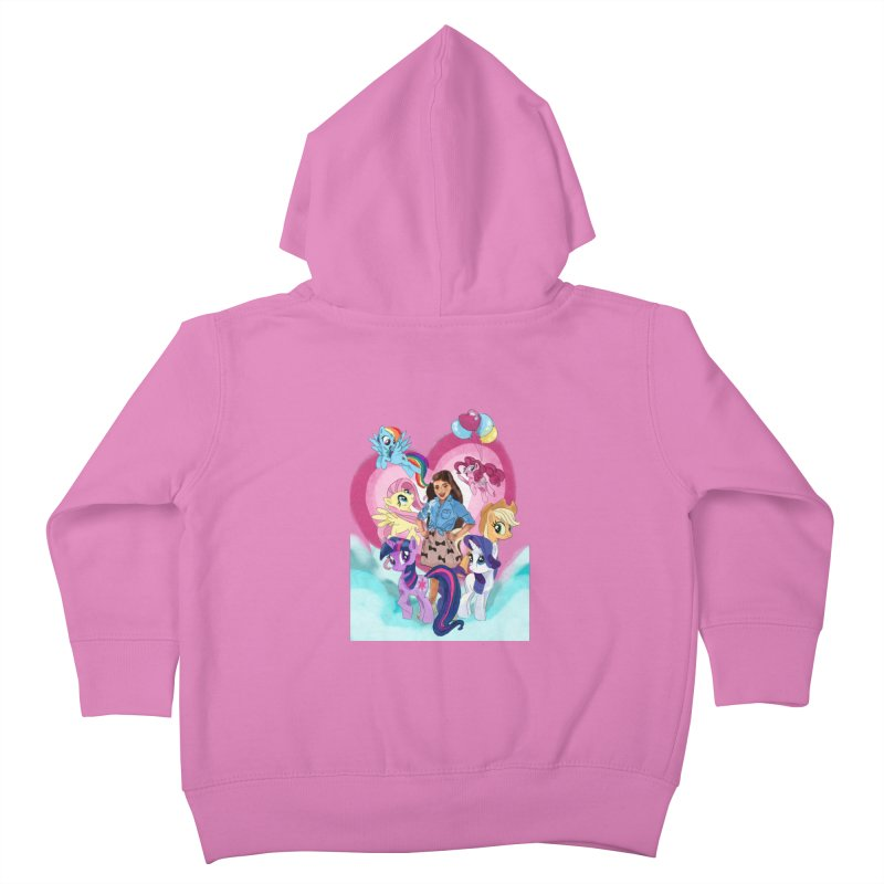 My Little Pony Kids Toddler Zip-Up Hoody by Eii's Artist Shop