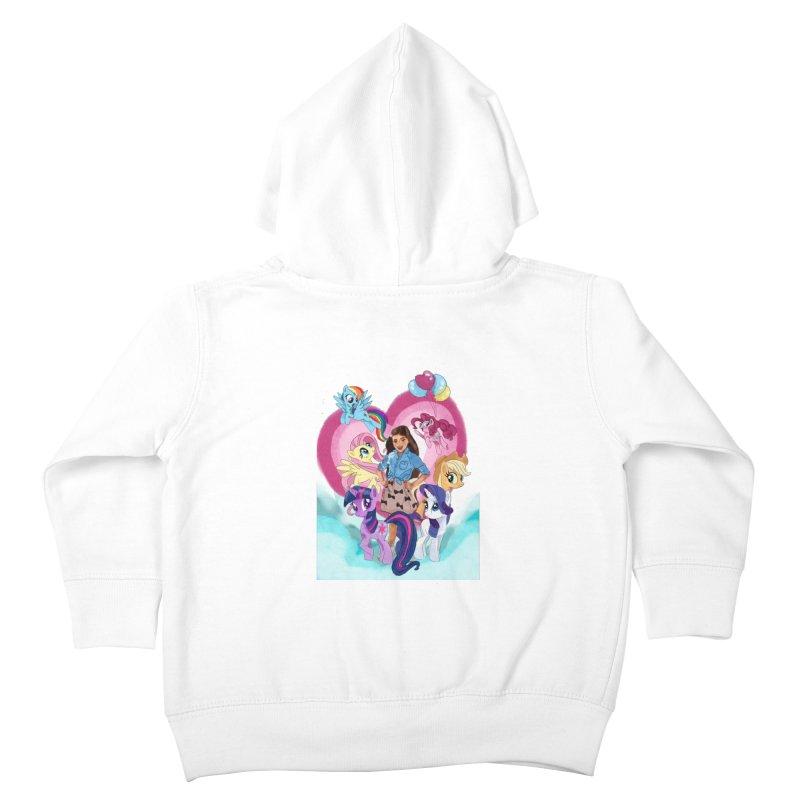 My Little Pony Kids Toddler Zip-Up Hoody by Eii's Artist Shop