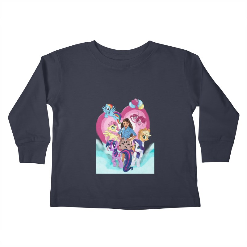 My Little Pony Kids Toddler Longsleeve T-Shirt by Eii's Artist Shop