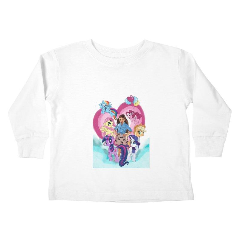 My Little Pony Kids Toddler Longsleeve T-Shirt by Eii's Artist Shop