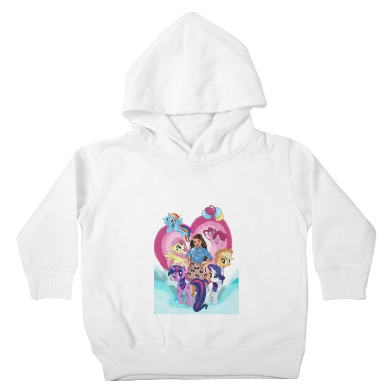 My Little Pony Kids Toddler Pullover Hoody by Eii's Artist Shop