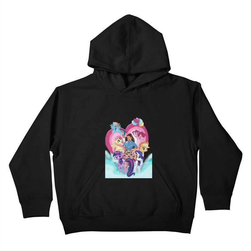 My Little Pony Kids Pullover Hoody by Eii's Artist Shop