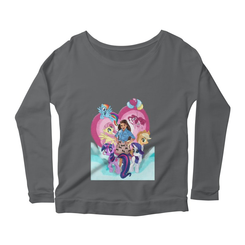 My Little Pony Women's Longsleeve T-Shirt by Eii's Artist Shop