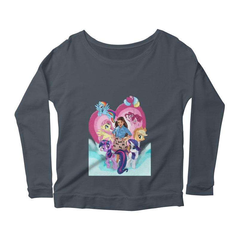My Little Pony Women's Scoop Neck Longsleeve T-Shirt by Eii's Artist Shop
