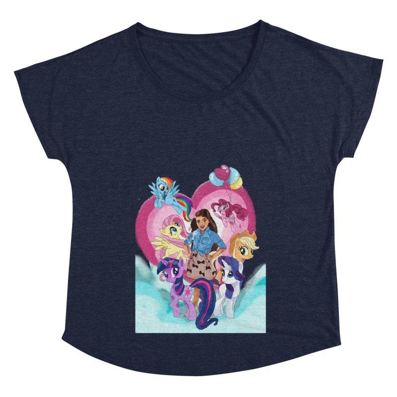 My Little Pony Women's Dolman Scoop Neck by Eii's Artist Shop