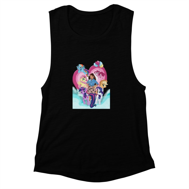 My Little Pony Women's Muscle Tank by Eii's Artist Shop