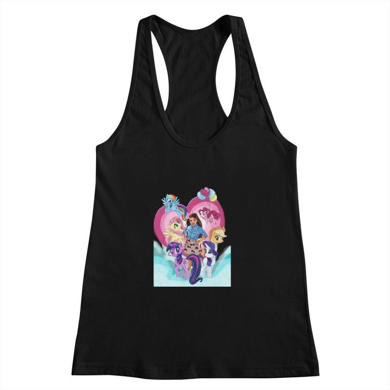 My Little Pony Women's Racerback Tank by Eii's Artist Shop