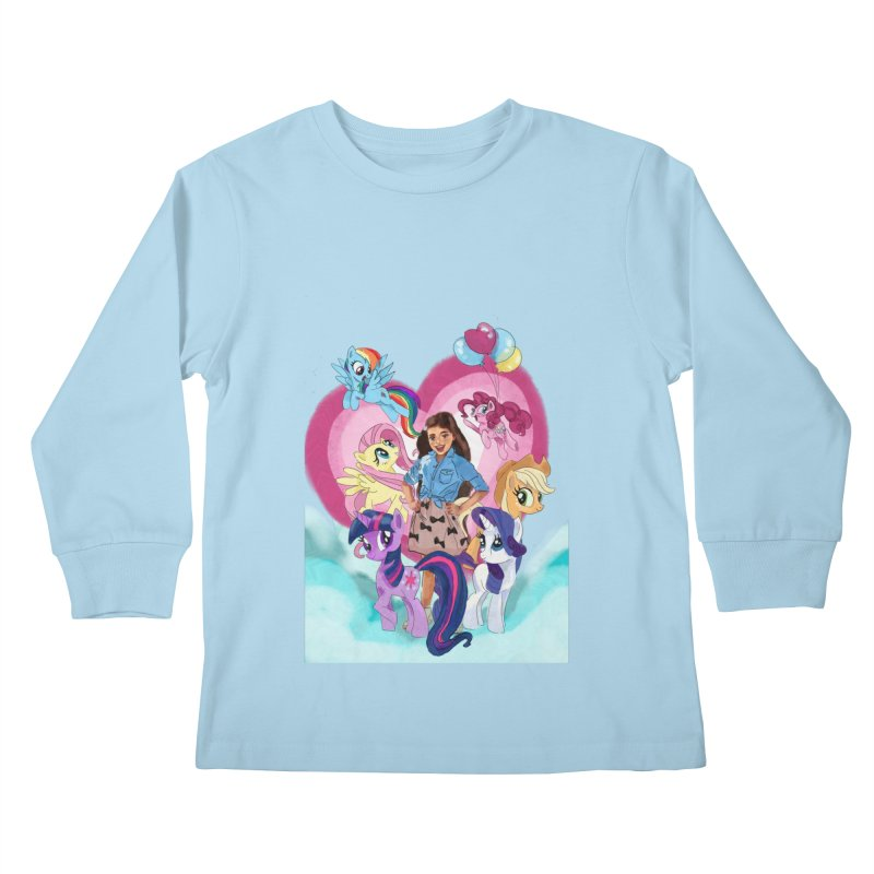 My Little Pony Kids Longsleeve T-Shirt by Eii's Artist Shop