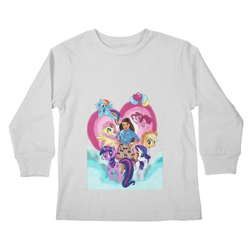 My Little Pony Kids Longsleeve T-Shirt by Eii's Artist Shop