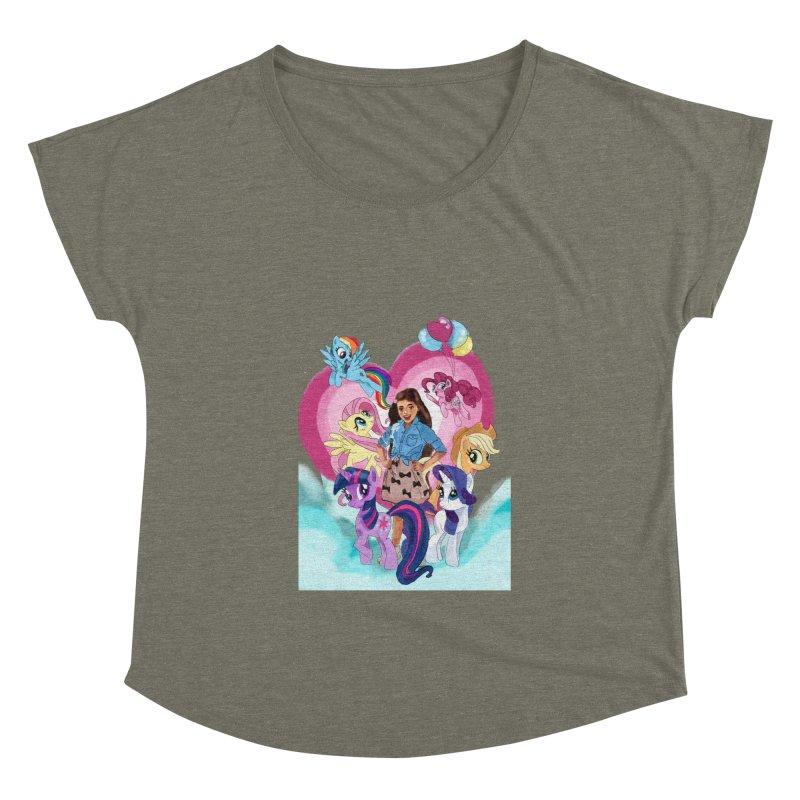 My Little Pony Women's Scoop Neck by Eii's Artist Shop