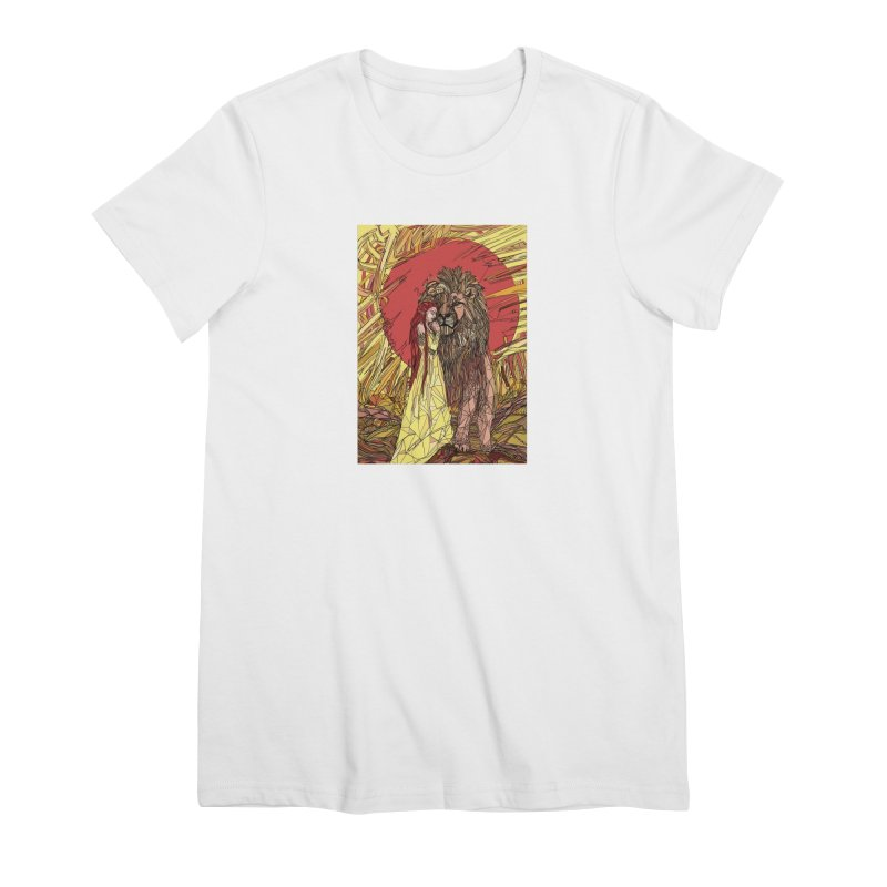 lion sign Women's Premium T-Shirt by Eii's Artist Shop