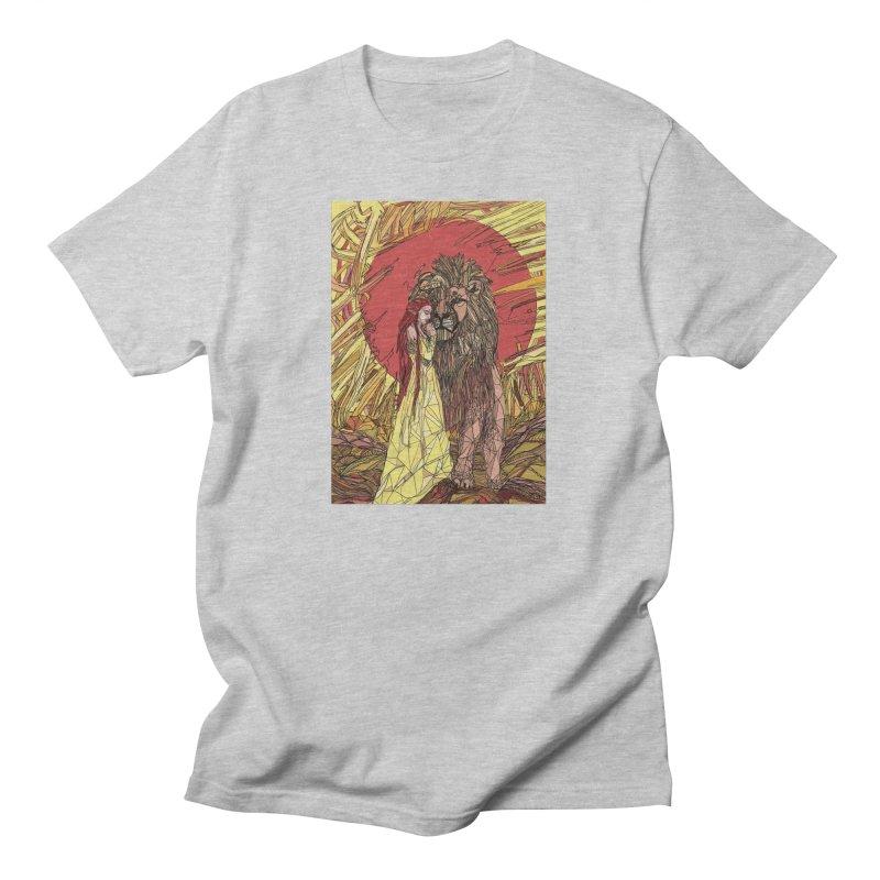 lion sign Women's T-Shirt by Eii's Artist Shop