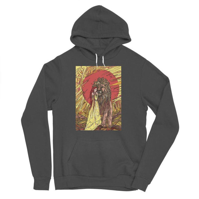lion sign Women's Sponge Fleece Pullover Hoody by Eii's Artist Shop