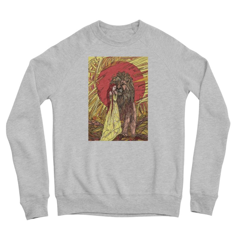 lion sign Men's Sponge Fleece Sweatshirt by Eii's Artist Shop