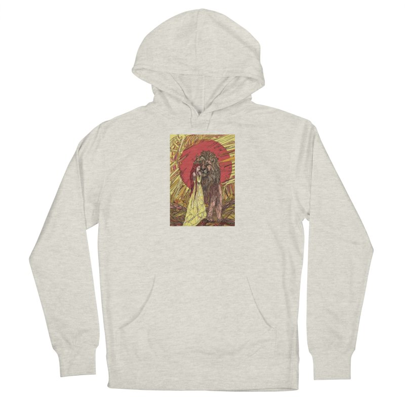 lion sign Men's Pullover Hoody by Eii's Artist Shop