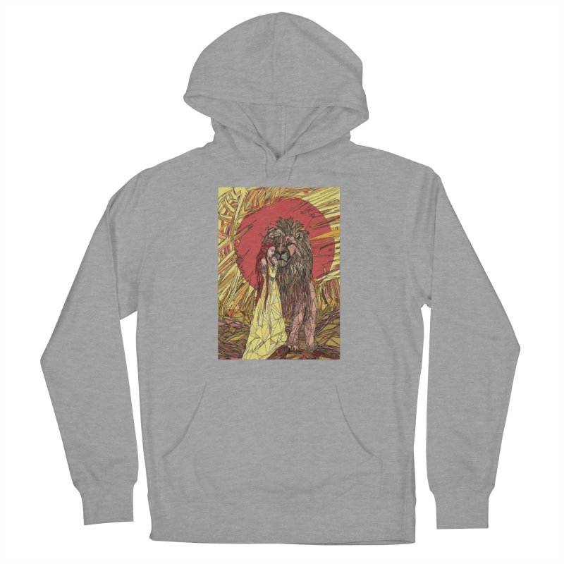 lion sign Men's French Terry Pullover Hoody by Eii's Artist Shop