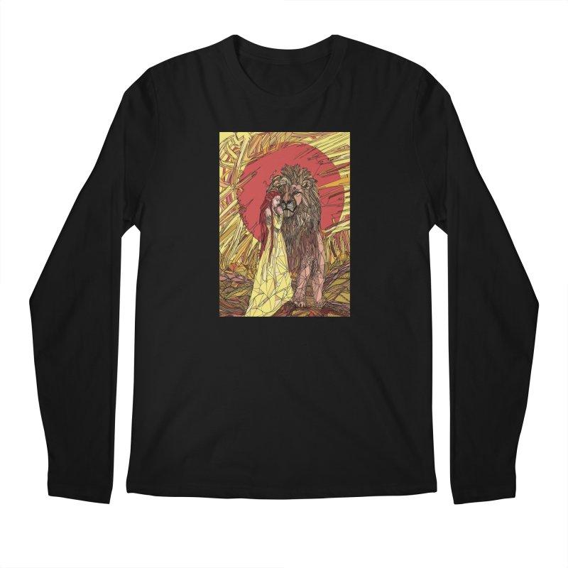 lion sign Men's Longsleeve T-Shirt by Eii's Artist Shop