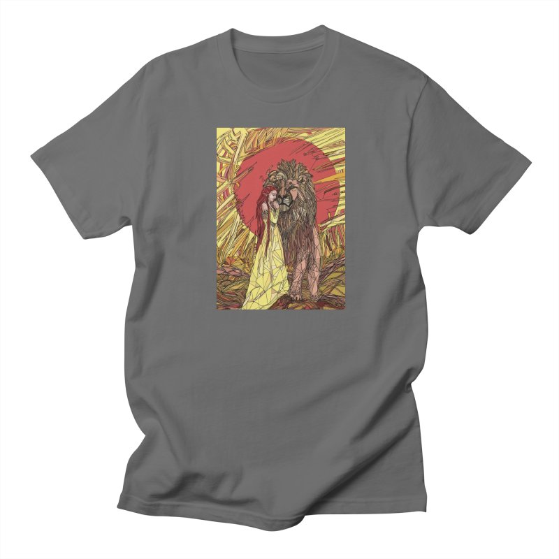 lion sign Men's T-Shirt by Eii's Artist Shop