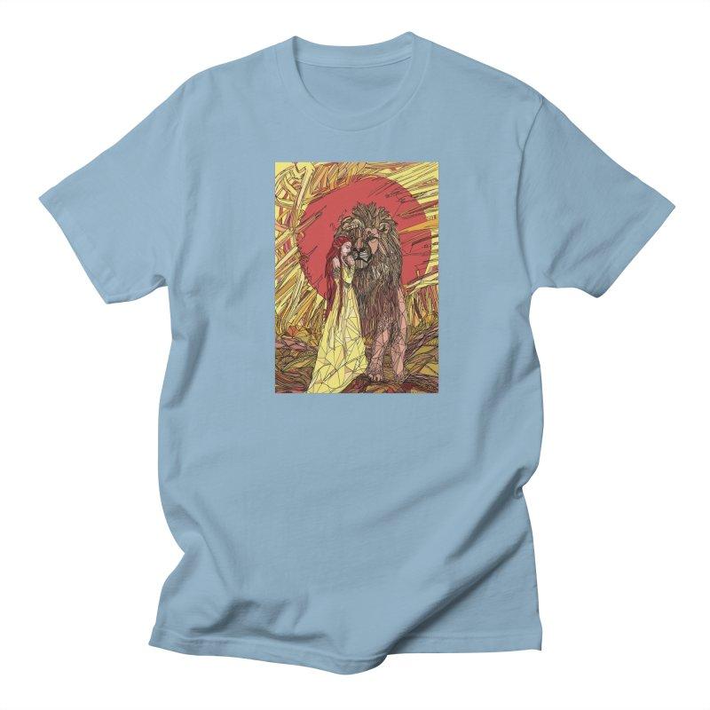 lion sign Women's Regular Unisex T-Shirt by Eii's Artist Shop