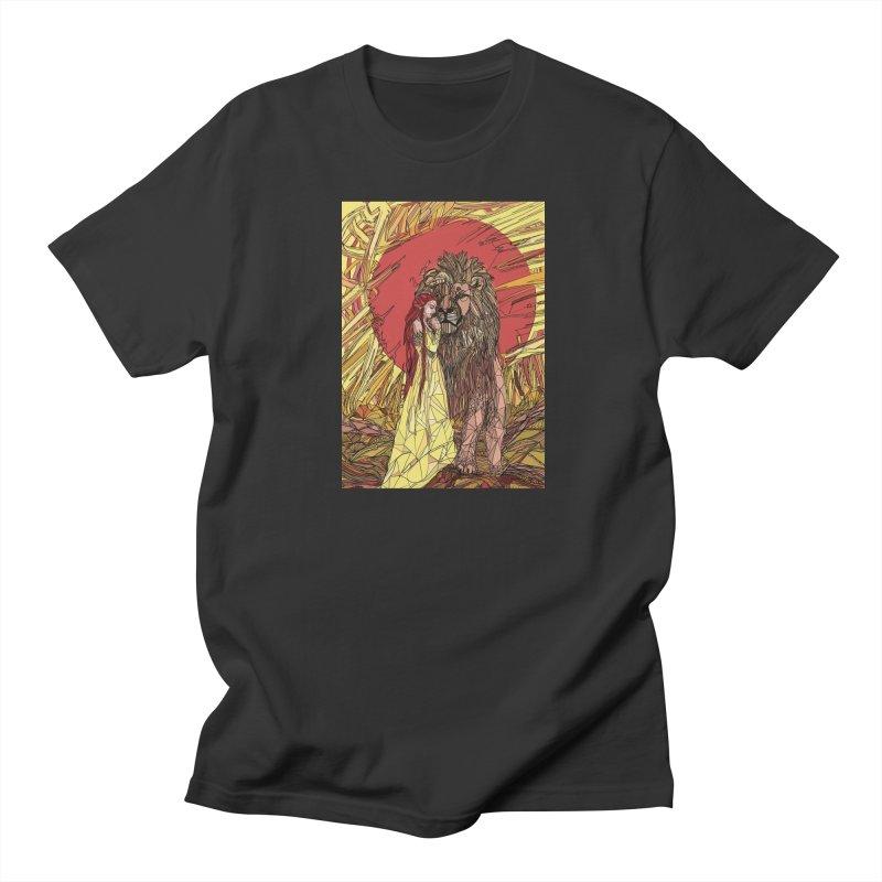 lion sign Men's Regular T-Shirt by Eii's Artist Shop