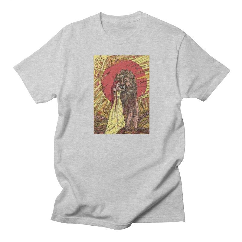lion sign Men's T-Shirt by Eii's Artist Shop