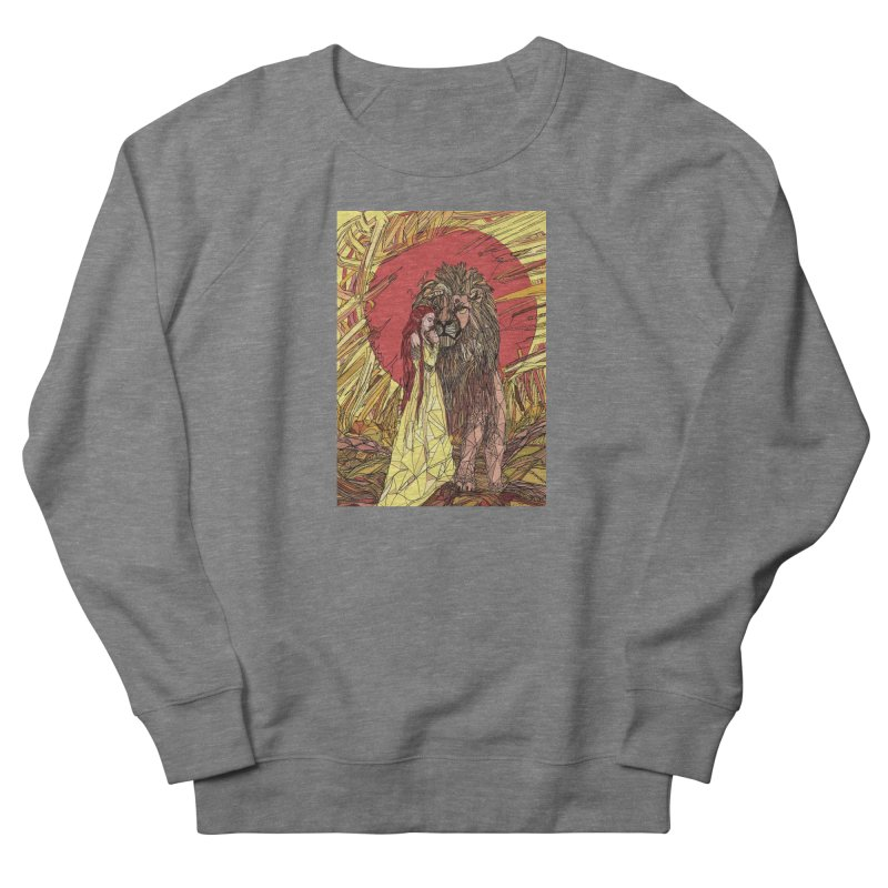 lion sign Men's Sweatshirt by Eii's Artist Shop