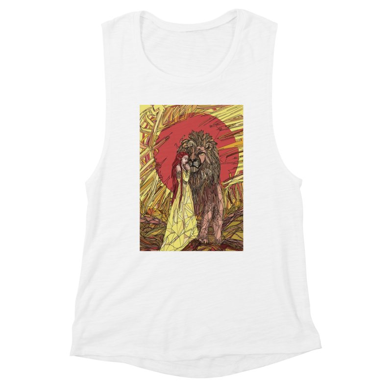 lion sign Women's Tank by Eii's Artist Shop