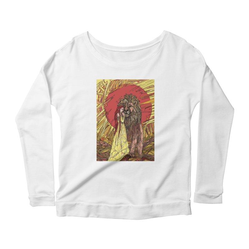 lion sign Women's Longsleeve T-Shirt by Eii's Artist Shop