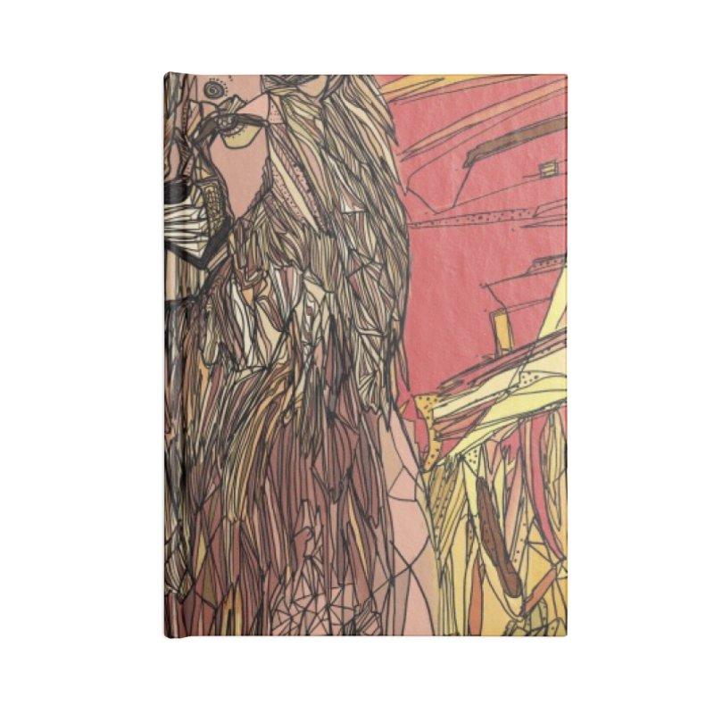 lion sign Accessories Notebook by Eii's Artist Shop