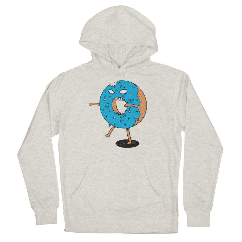 Walking Donut Men's Pullover Hoody by eikwox's Artist Shop