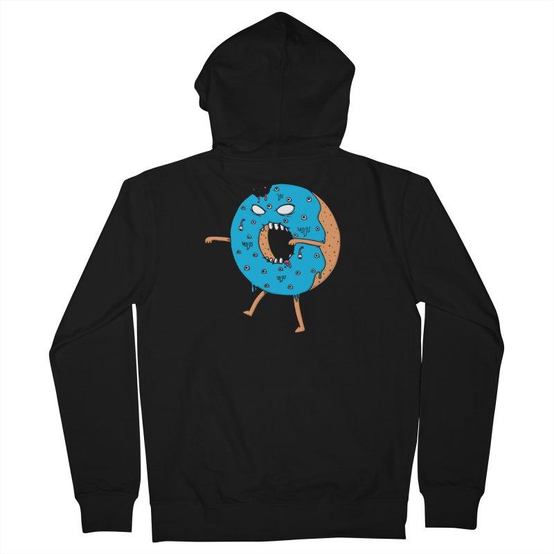 Walking Donut Women's Zip-Up Hoody by eikwox's Artist Shop