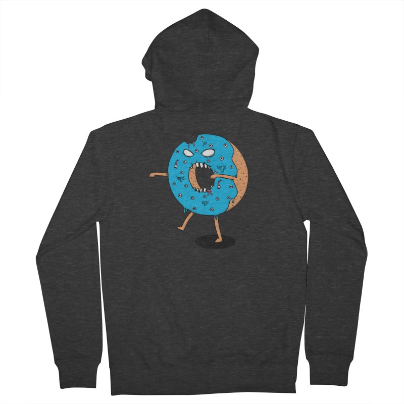 Walking Donut Men's Zip-Up Hoody by eikwox's Artist Shop