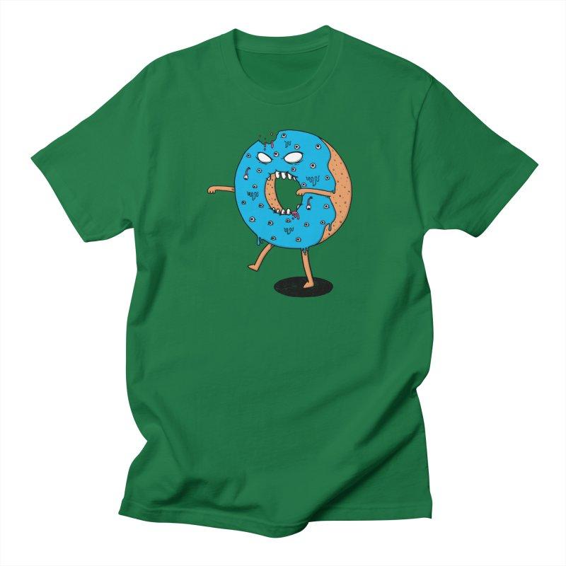 Walking Donut Men's Regular T-Shirt by eikwox's Artist Shop