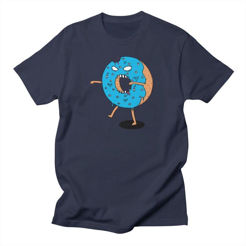 Walking Donut Men's T-Shirt by eikwox's Artist Shop