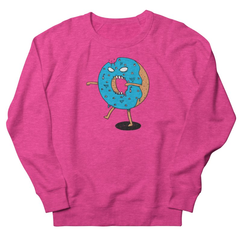 Walking Donut Women's Sweatshirt by eikwox's Artist Shop