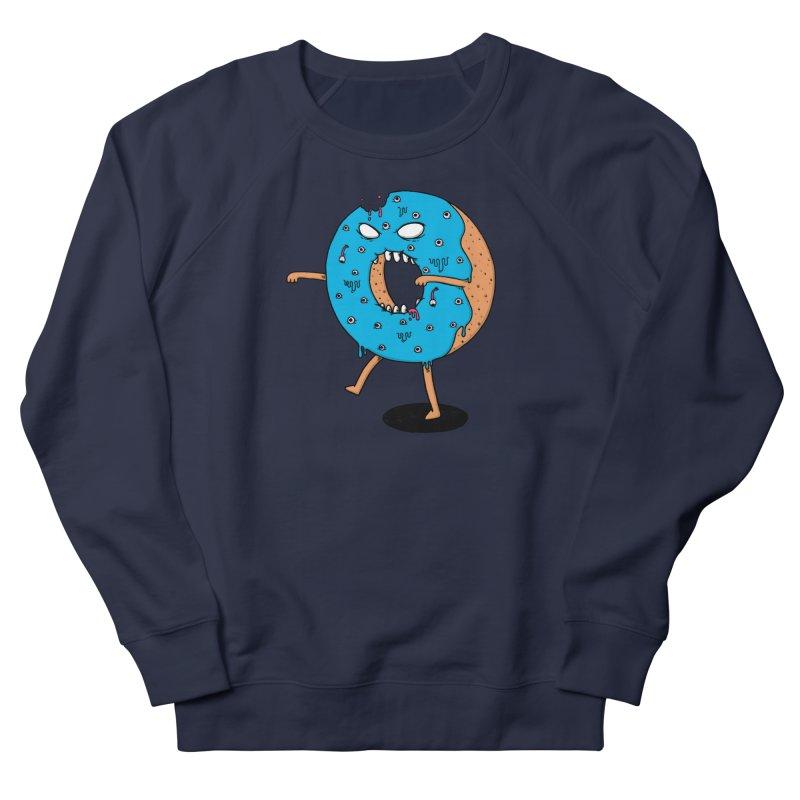 Walking Donut Women's French Terry Sweatshirt by eikwox's Artist Shop