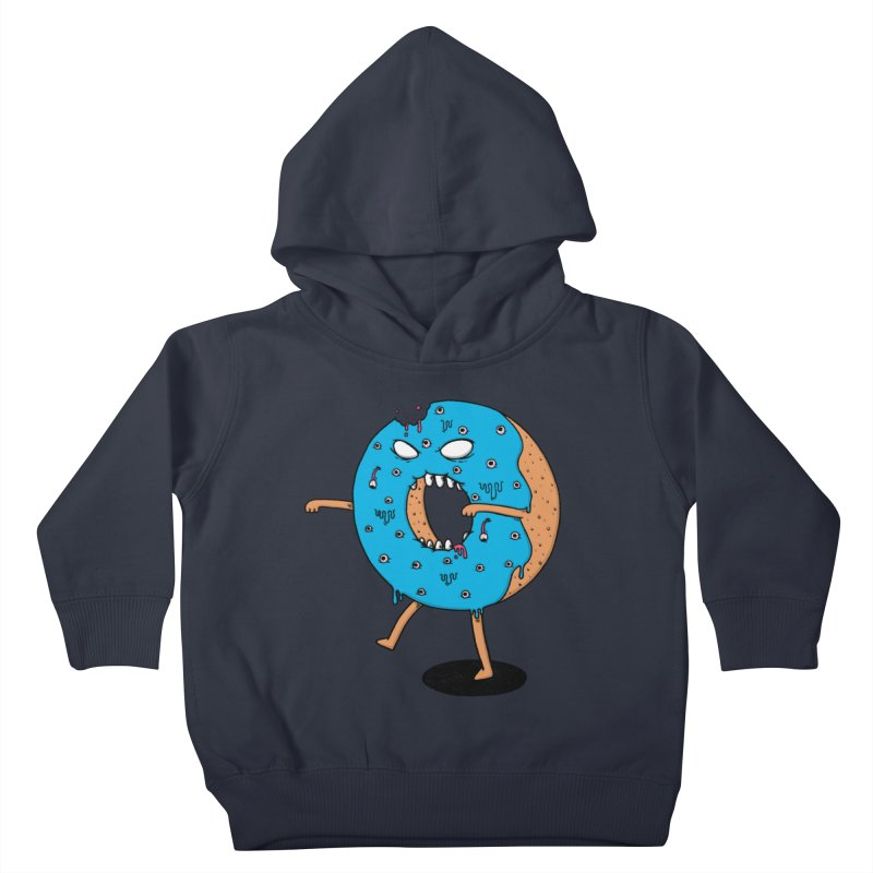 Walking Donut Kids Toddler Pullover Hoody by eikwox's Artist Shop