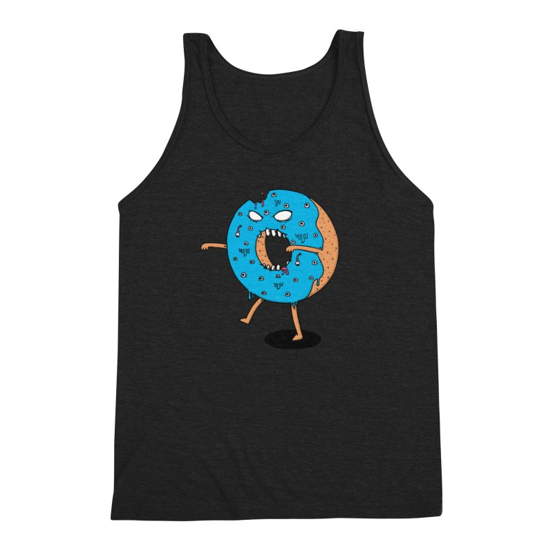 Walking Donut Men's Triblend Tank by eikwox's Artist Shop