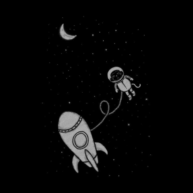 Monkey In Space by eikwox's Artist Shop