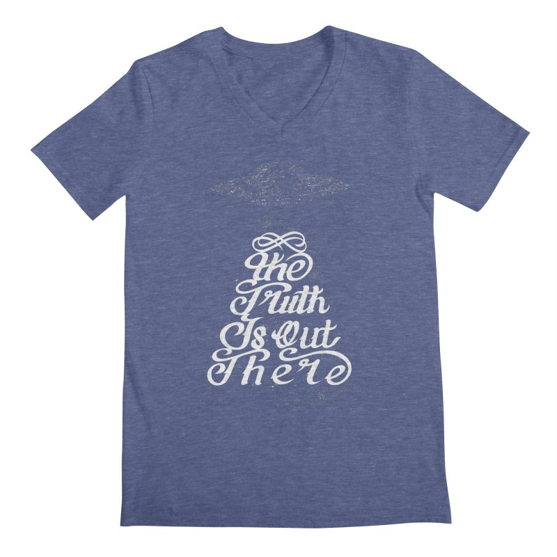 The Truth Men's V-Neck by eikwox's Artist Shop