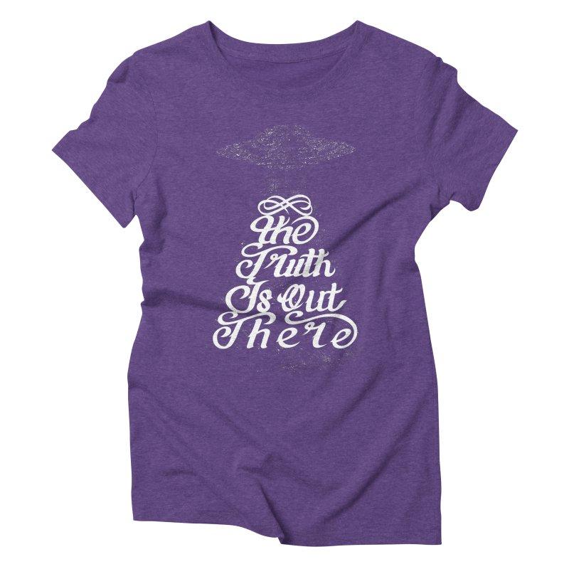 The Truth Women's Triblend T-shirt by eikwox's Artist Shop