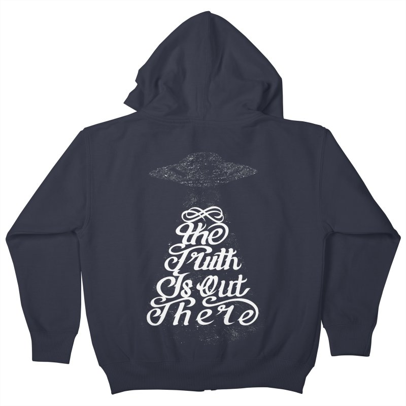 The Truth Kids Zip-Up Hoody by eikwox's Artist Shop