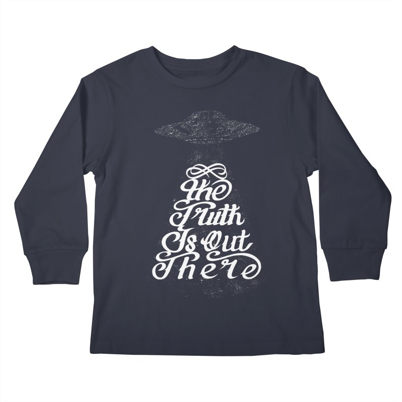 The Truth Kids Longsleeve T-Shirt by eikwox's Artist Shop