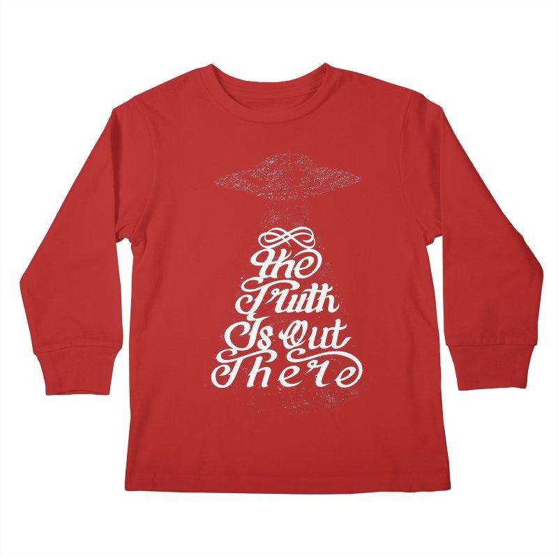 The Truth Kids Longsleeve T-Shirt by eikwox's Artist Shop