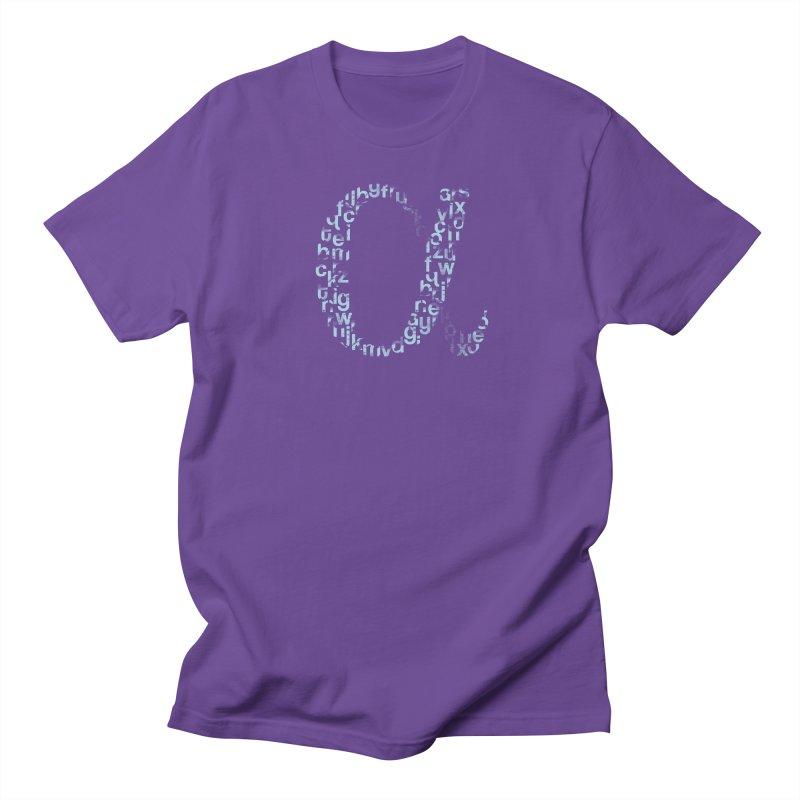 Alphabet Men's T-shirt by eikwox's Artist Shop