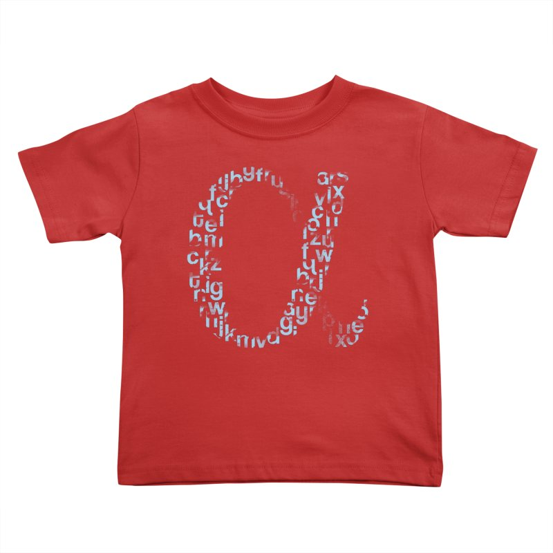 Alphabet Kids Toddler T-Shirt by eikwox's Artist Shop