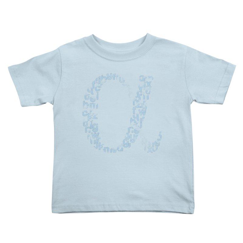 Alphabet Kids Toddler T-Shirt by eikwox's Artist Shop