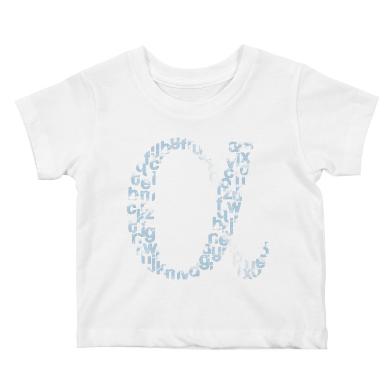 Alphabet Kids Baby T-Shirt by eikwox's Artist Shop