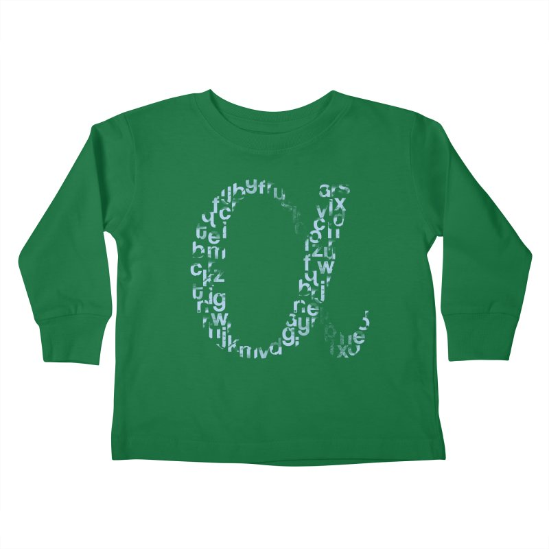 Alphabet Kids Toddler Longsleeve T-Shirt by eikwox's Artist Shop