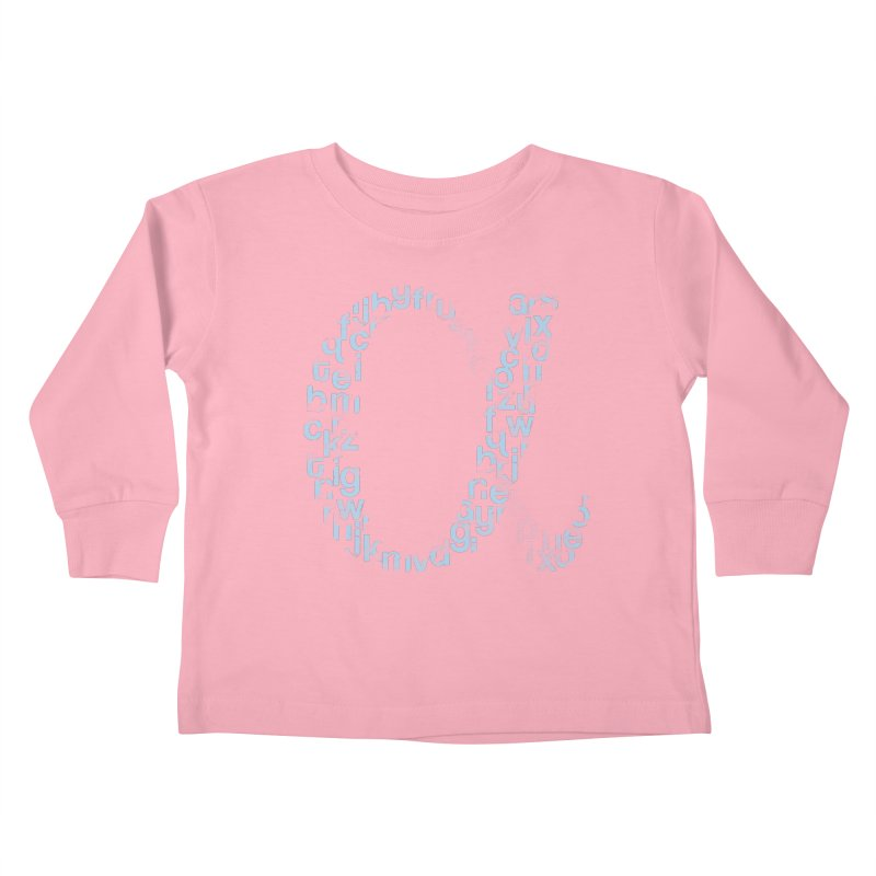 Alphabet Kids Toddler Longsleeve T-Shirt by eikwox's Artist Shop
